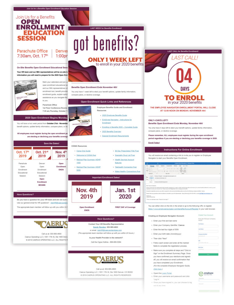 EmailsCaerus1_Benefits
