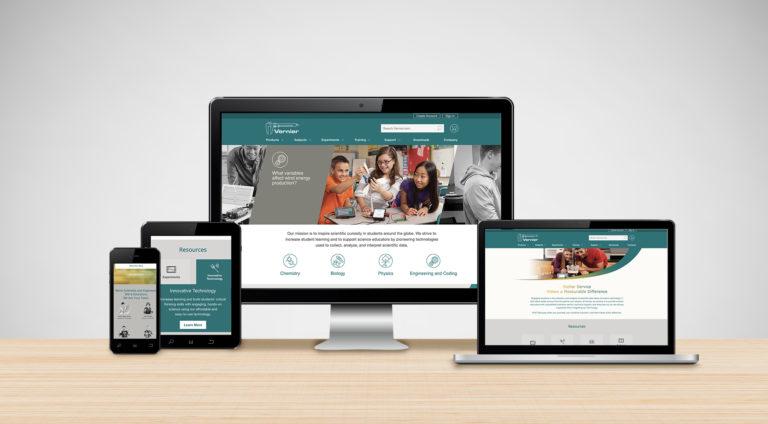 Vernierwebsite